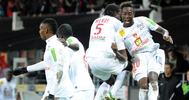 Brest celebrate a comfortable victory