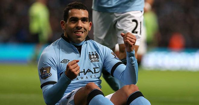 Carlos Tevez: City down - but not out