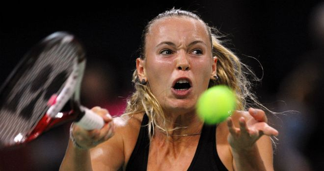 Caroline Wozniacki: On her way to victory in Sofia
