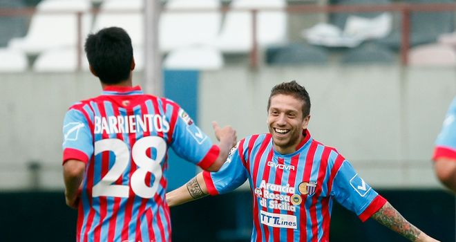 Alejandro Gomez: Is reportedly close to joining Atletico Madrid from Catania