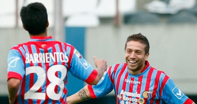Alejandro Gomez: Inspired form for Catania