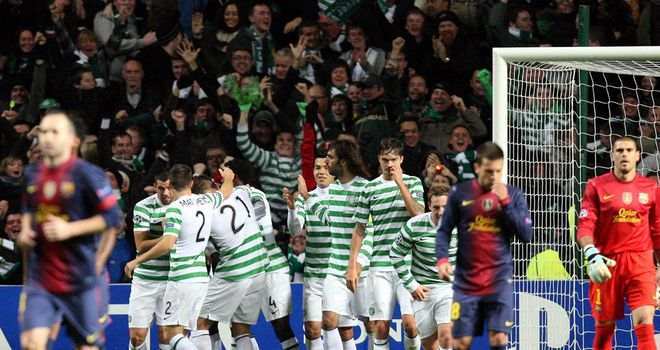 Celtic produced a night Kelvin Wilson will always remember as they beat Barcelona