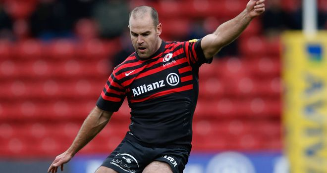 Charlie Hodgson: Kicked a total of 21 points in win against Wasps