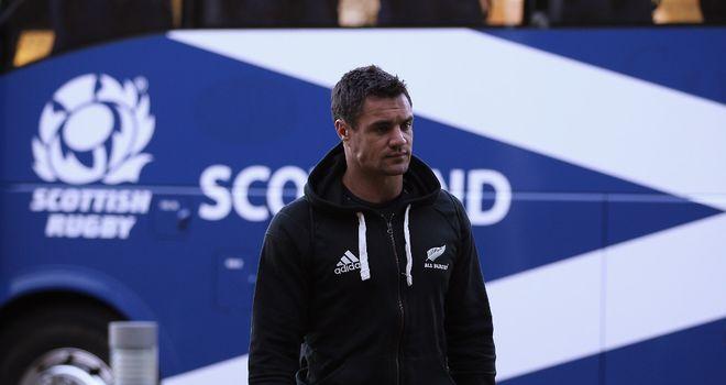 Dan Carter: Not even looking at Scotland team