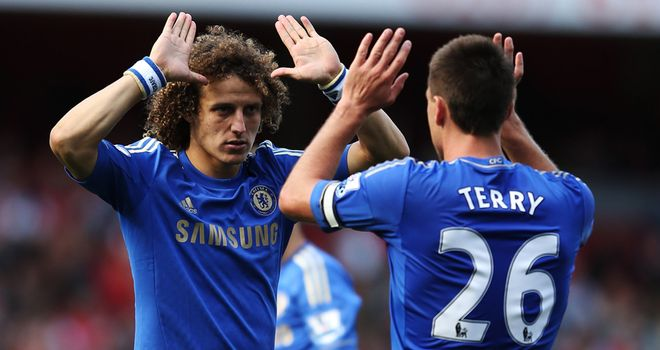 David Luiz: Believes it is positive that Chelsea's players are honest with each other