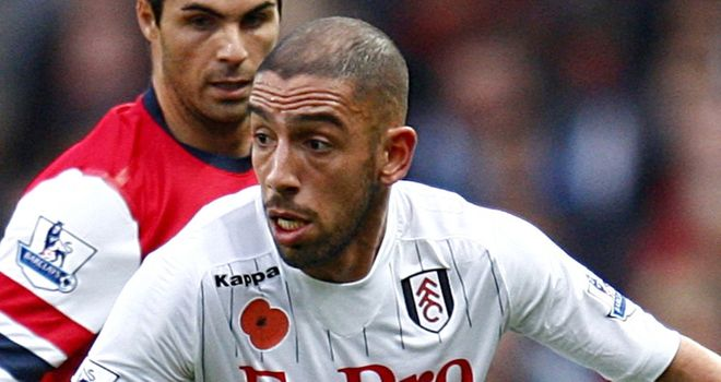 Ashkan Dejagah: Fulham winger admits playing against Stoke City will be tough
