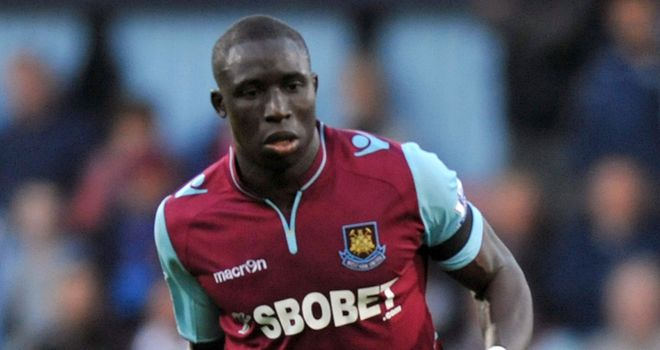 Mohamed Diame: The midfielder has a release clause in his contract at Upton Park