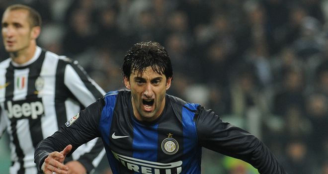 Diego Milito: Fully focused on returning to action