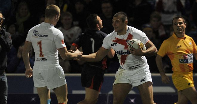 Ryan Hall: Ran in four tries as England easily beat France