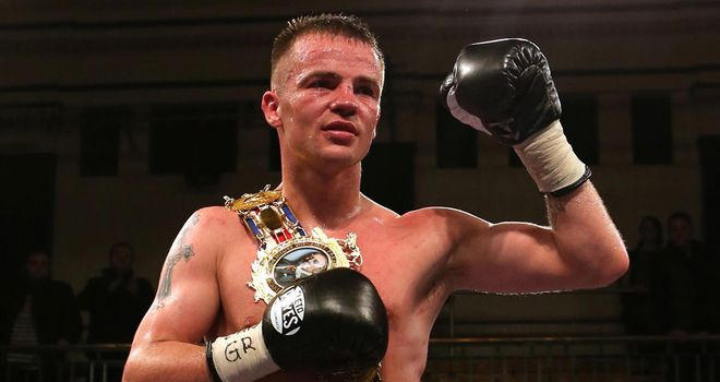 Frankie Gavin: claimed the British title with victory over Junior Witter in November