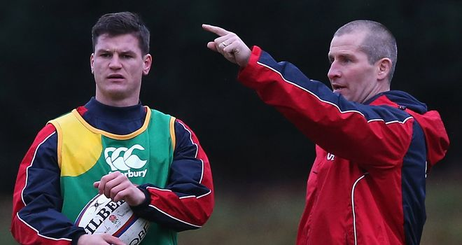 England coach Stuart Lancaster has named Freddie Burns among the replacements for the clash with the All Blacks