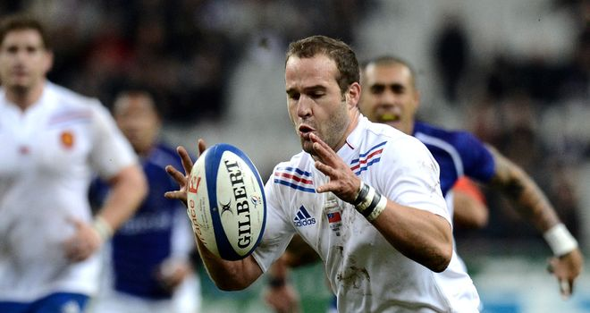 Frederic Michalak: His 19-point haul inspired France to a narrow victory