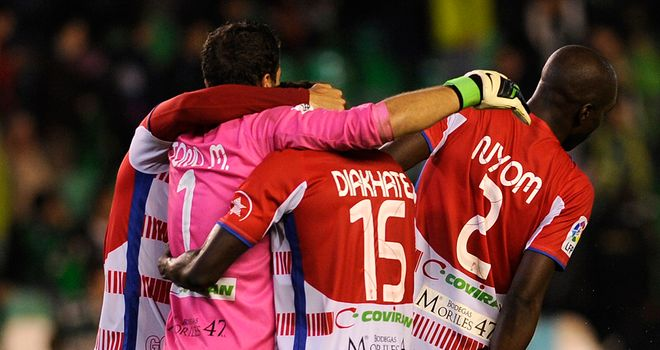 Granada: Aiming to stop Barcelona this weekend