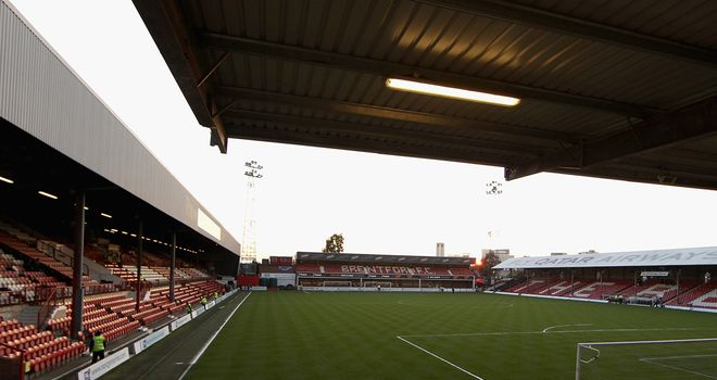 Griffin Park: Current home of The Bees