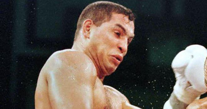 Hector Camacho: During his 1997 fight with Sugar Ray Leonard