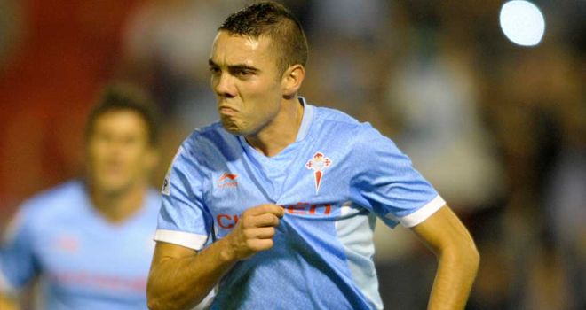 Iago Aspas: Too expensive for Reading, says McDermott