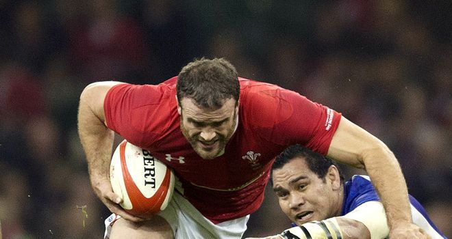 Jamie Roberts: Wales centre ready to go on the offensive against Italy