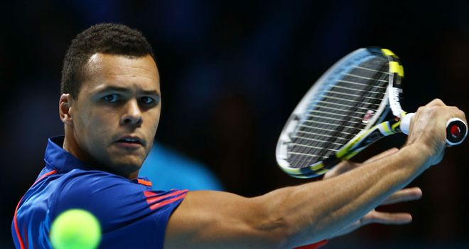The 32-year old son of father Didier Tsonga and mother Évelyne Tsonga, 188 cm tall Jo-Wilfried Tsonga in 2017 photo