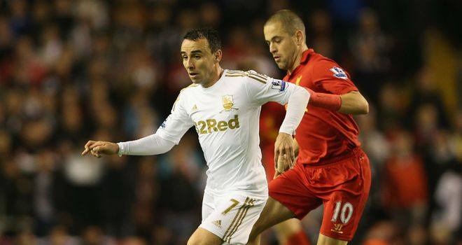 Joe Cole: Made just his fourth appearance of the season