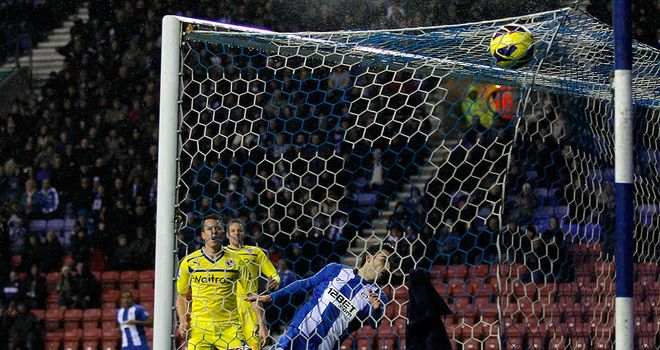 Reading v Wigan: Jordi Gomez sealed a dramatic win in the last minute for Wigan last November