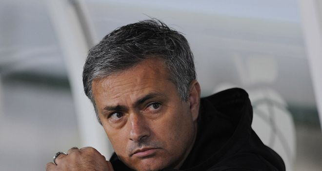 Mourinho: has conceded defeat in Real's quest to retain La Liga crown