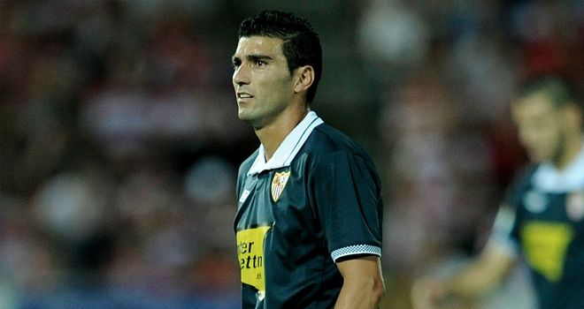 Jose Antonio Reyes: Got Sevilla on their way against Maribor