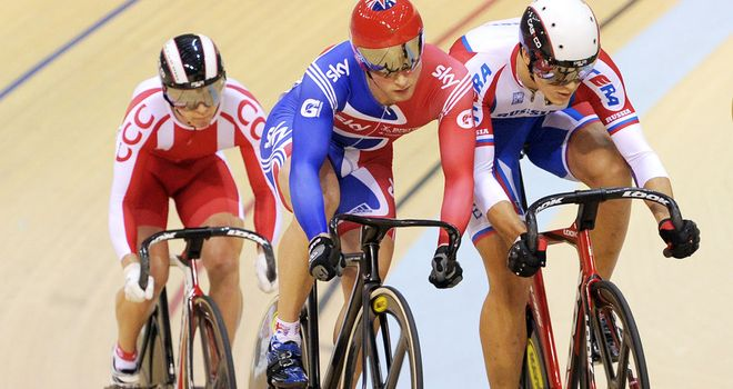 Jason Kenny: Off to strong start in the event Sir Chris Hoy made his own