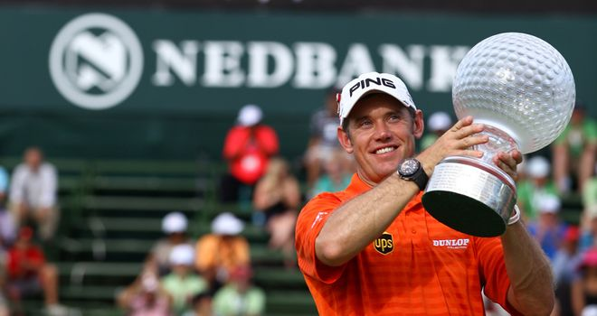 Lee Westwood: chasing a hat-trick of wins
