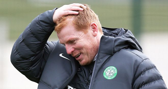 Neil Lennon: Not too down in the dumps