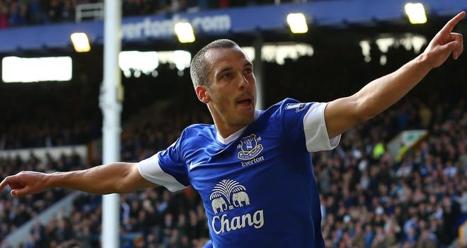 Leon Osman: Believes Everton will be flying high again soon