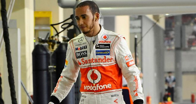 Lewis Hamilton: Keeping his spirits up for the final two races