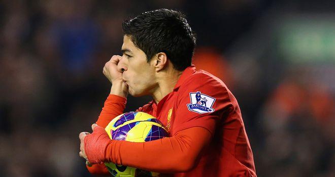 Suarez: On target again
