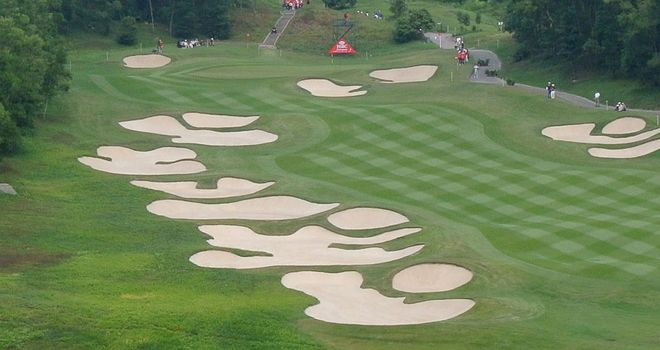 Mission Hills in China: Where the HSBC Champions event was staged in 2012