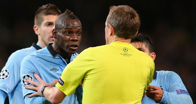 Mario Balotelli: Has fallen down the pecking order at Manchester City this season