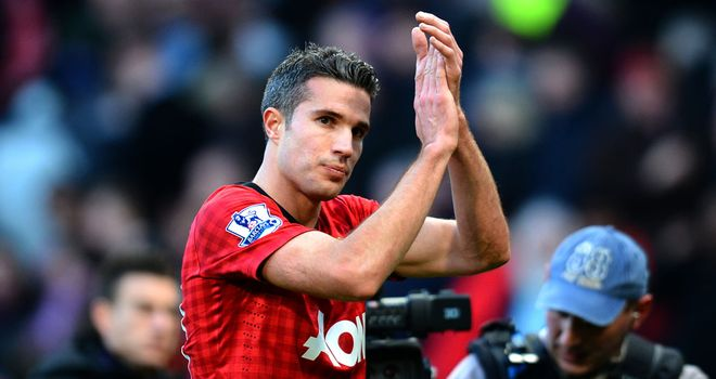 Robin van Persie: Produced a superb display against former club