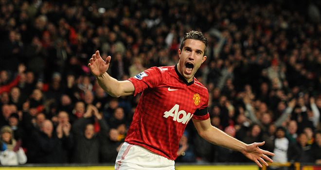 Robin van Persie: The Dutchman has been the overwhelming choice of punters in our first goalscorer market