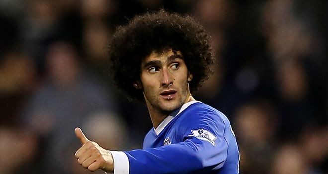 Marouane Fellaini: Looks set to stay at Goodison Park