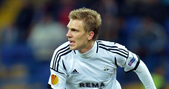 Borek Dockal scored for Rosenborg