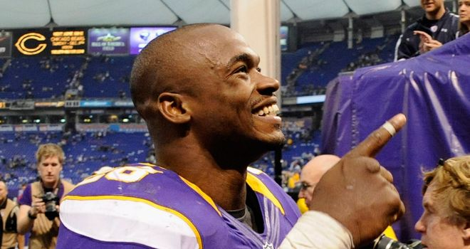Adrian Peterson: Came alive in the final quarter as the Vikings beat the Lions