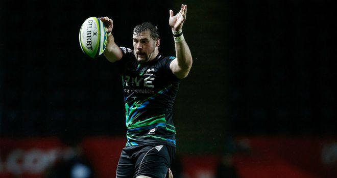 Morgan Allen: Has committed his future to the Ospreys
