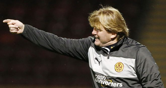 Stuart McCall: Last-gasp equaliser denies his Motherwell side