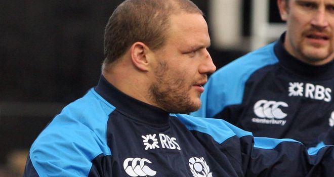 Euan Murray: Returns for Scotland against South Africa