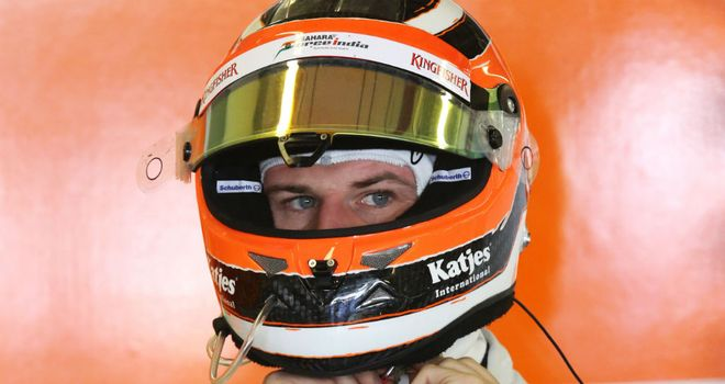 Nico Hulkenberg: Will effectively be Sauber's number one in 2013