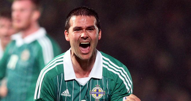 David Healy: Scored 36 goals in 95 appearances for Northern Ireland
