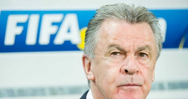 Ottmar Hitzfeld: On course to qualify for the World Cup in Brazil