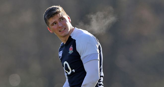 Owen Farrell: Says he is not afraid to go head-to-head with New Zealand