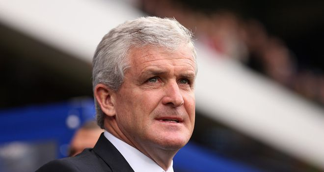 Mark Hughes: Favourite to replace Tony Pulis at the Britannia Stadium