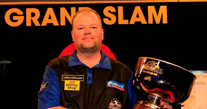 Van Barneveld: last year's Grand Slam of Darts winner