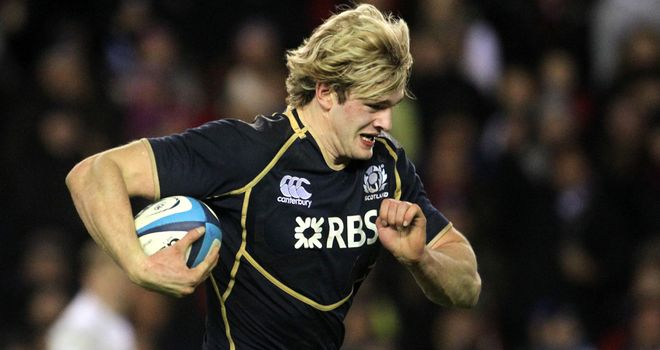 Richie Gray: won his 26th cap on Saturday