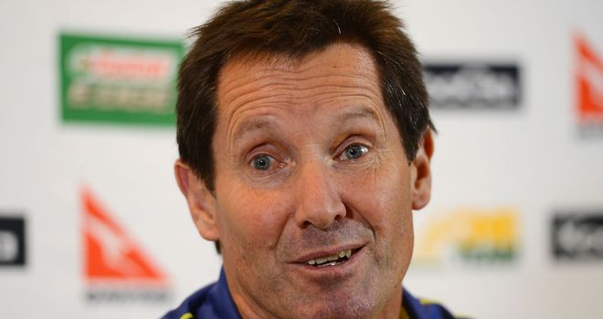 Robbie Deans: Responded calmly to outburst from David Campese